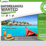 Win a trip to Bora Bora & $20,000 cash!