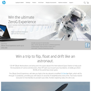 Win a trip to China to flip, float & drift like an astronaut!