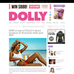 Win a trip to DOLLY's shoot location in Honolulu with your BFF!