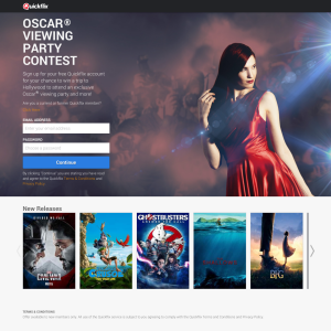 Win a trip to Hollywood to attend an exclusive Oscar viewing party & more!