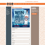 Win a trip to Iceland!