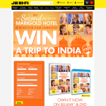 Win a trip to India!