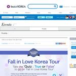 Win a trip to Korea!