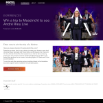 Win a trip to Maastricht to see Andre Rieu live!