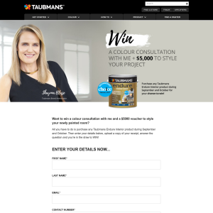 Win a Trip to Melbourne for a Consultation with Shaynna Blaze + a $5,000 Freedom Gift Card