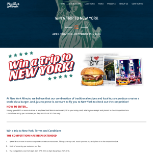 Win a trip to New York!