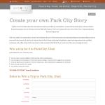 Win a trip to Park City, Utah!