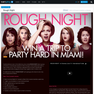 Win a trip to party hard in Miami!