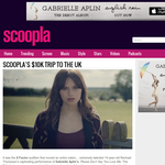 Win a trip to the UK to meet Gabrielle Aplin!