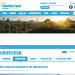 Win a vacation migration this winter to Queensland's Sunshine Coast!