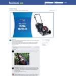 Win a Victa Corvette 400 lawnmower valued at $599!