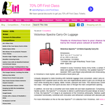 Win a Victorinox Spectra 2.0 Extra-Capacity Carry-On travel piece valued at $249.55
