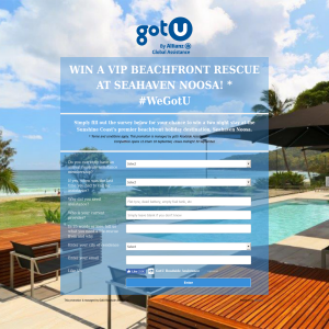 Win a VIP Beachfront Rescue at Seahaven Noosa