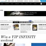 Win a VIP INFINITI weekend!