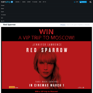 Win a VIP trip to Moscow!