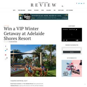 Win a VIP Winter Getaway at Adelaide Shores Resort
