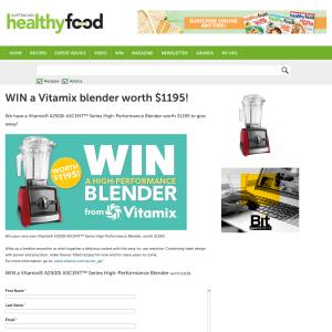 Win a Vitamix blender