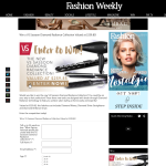 Win a VS Sassoon Diamond Radiance Collection valued at $259.85!