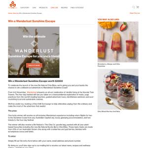 Win a Wanderlust Sunshine Coast Escape
