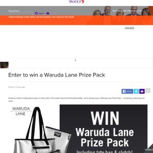 Win a Waruda Lane Prize Pack