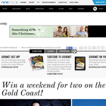 Win a weekend for 2 on the Gold Coast!