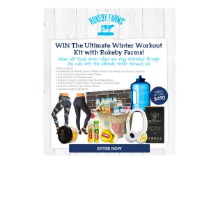 Win a Winter Workout Kit