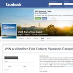 Win a Woodford Folk Festival weekend escape!