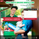 Win a year of Groceries worth $5,000