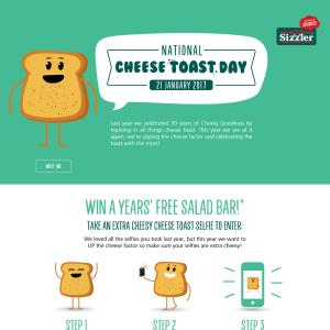 Win a year's free salad bar + MORE!