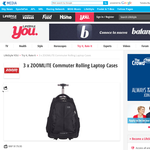 Win a Zoomlite Commuter Rolling Laptop Cases