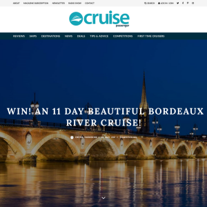 Win an 11D Bordeaux River Cruise for 2