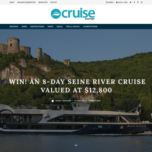 Win an 8-day Seine River Cruise, valued at $12,800!