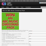 Win an ABC Music Christmas pack!