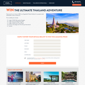 Win an amazing trip to Thailand!