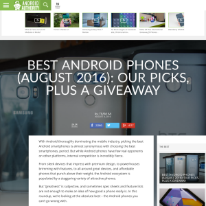Win an Android phone!
