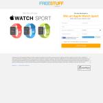 Win an Apple Watch Sport