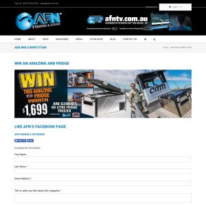 Win an ARB 60L Fridge/Freezer
