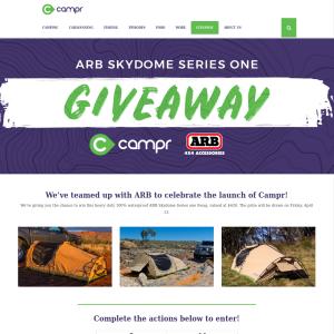 Win an ARB Skydome Swag