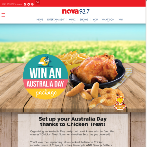 Win an Australia Day package