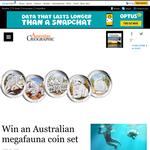 Win an Australian megafauna coin set!