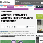 Win an EJ Whitten Legends Match Experience