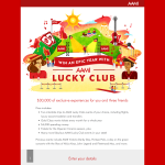 Win an epic year with AAMI Lucky Club, worth $30k