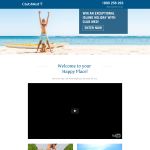 Win an exceptional island holiday with Club Med!