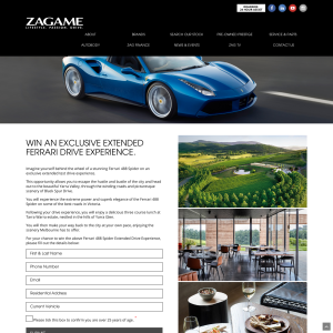 Win an exclusive extended Ferrari experience