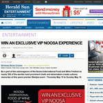 Win an Exclusive VIP Noosa Experience