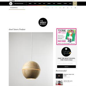 Win an ilanel Saturn pendant light