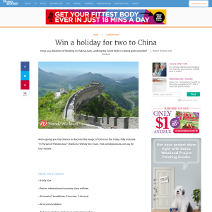 Win an 'In Pursuit of Pandas' Holiday in China for 2