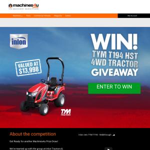 Win an Inlon TYM T194 Tractor