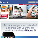 Win an iPhone 6 + weekly Coles Myer vouchers!