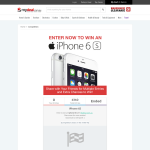 Win an iPhone 6S!
